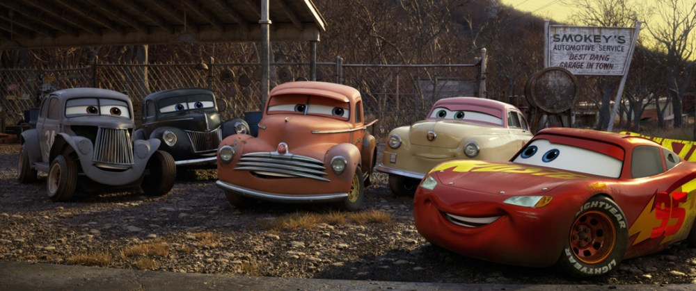 thomasville, smokey, lightning mcqueen, louise nash