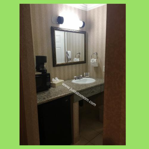 quality inn & suites; hotel; mini fridge
