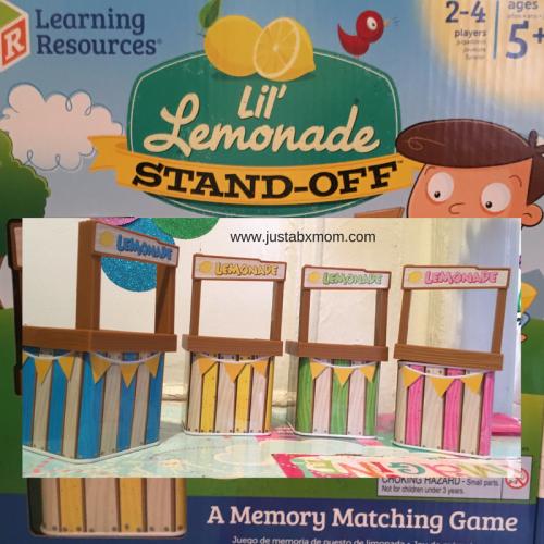 lemonade, lil' lemonade standoff, brain games, memory game, learning resources