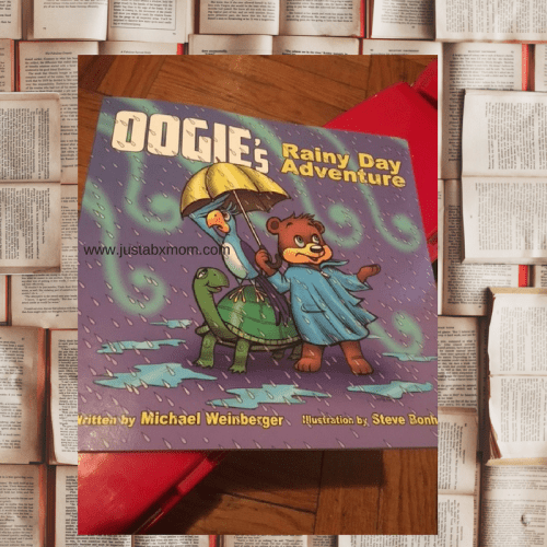oogie bear, rainy day, children's book