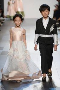 vicky zhang, nyfw, fashion week, children's fashion