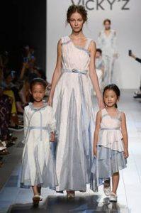 vicky zhang, nyfw, fashion week 2017, children's fashion