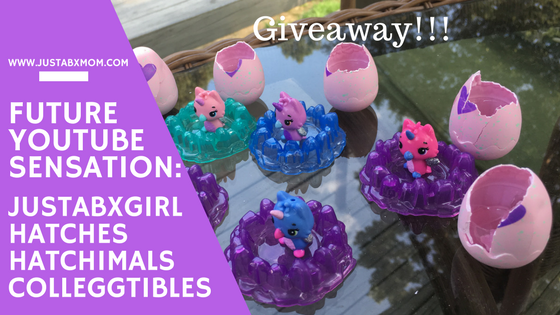 giveaway, hatchimals, hatchimals colleggtibles, mini figures, blind bags