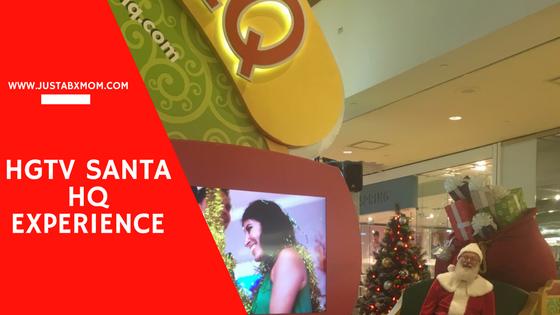 hgtv santa hq, santahq, queens center mall, santa pictures