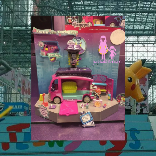 vampirina, ghoul girls, play set, van