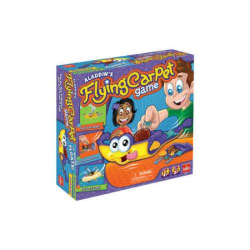 aladdin's flying carpet game, magnet, flying carpet, goliath games
