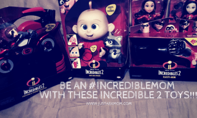 incredibles, incredibles 2, #incrediblemom, jakks pacific, jakks toys, jack-jack, elastigirl, violet