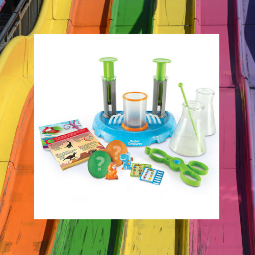 beaker creatures, beaker creature reactor pod lab, learning resources