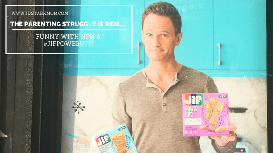 jif power ups, neil patrick harris, how i met your mother, snack attack