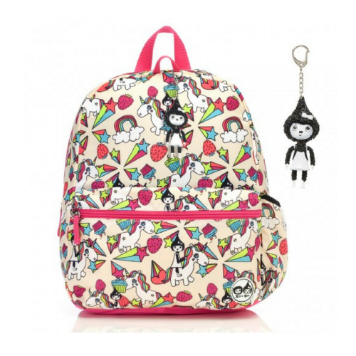 bookbags, backpacks, unicorns, pink, toy, colorful, back to school