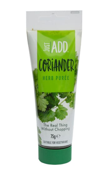 just add coriander