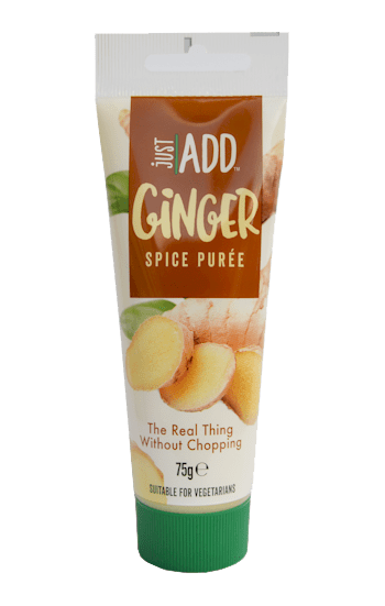just add ginger puree
