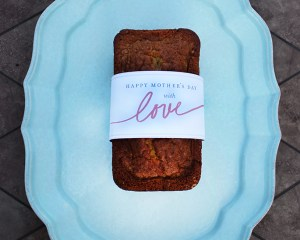Mother's Day Gift Idea: Banana Bread Recipe and Free Printable