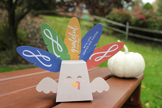 turkey favor box free printable, treat box, free printable, turkey, thanksgiving