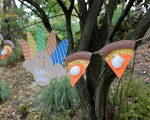 Paper Plate Pie Banner