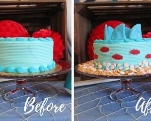How to Transform a Store-Bought Cake Into a Shark Cake