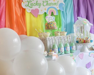 """You're my Lucky Charm"" St. Patrick's Day Party"