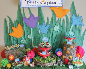 Ben & Holly's Little Kingdom party