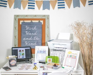 3 Free Back to School Printables to Start the Year Off Smoothly with HP