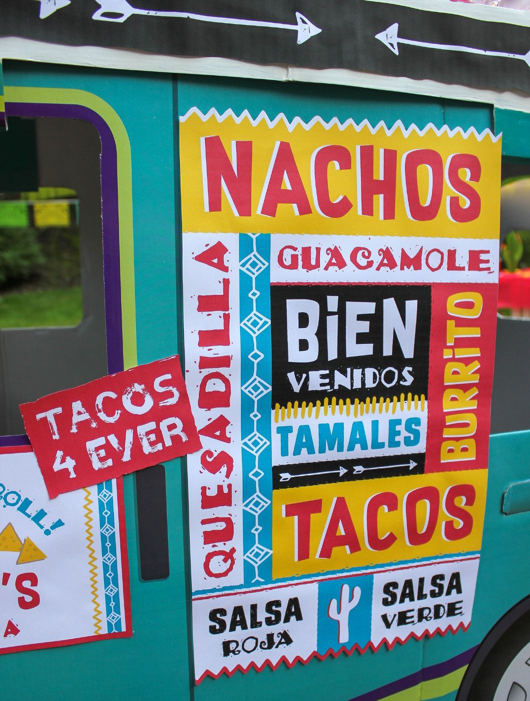 taco truck, taco truck party, taco, taco 'bout fun, oriental trading, Fun365, Just Add Confetti, fiesta, taco truck fiesta, diy taco truck, kids party, party ideas, diy party ideas, free printables, party printables, taco truck birthday party, taco party