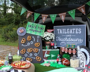 Easy and Creative Tailgate Ideas with Free Printables