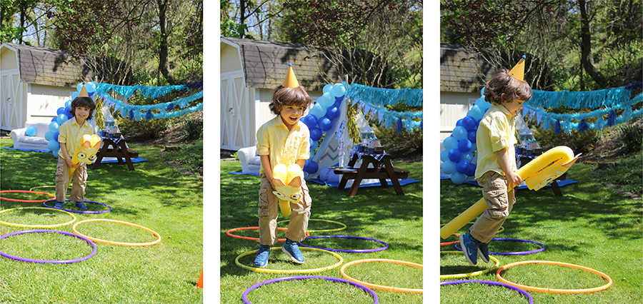 Bluey, Bluey abc kids party ideas, Bluey abc kids party, Bluey abc party, DIY party, backyard party, at-home party ideas, party printables, free printables, kids party, Bluey Backyard Birthday Party, scavenger hunt, pool noodle races, pool noodle Bluey, pool noodle Bingo, treat cups, Bluey backyard birthday treat, Just Add Confetti, Disney, partnership