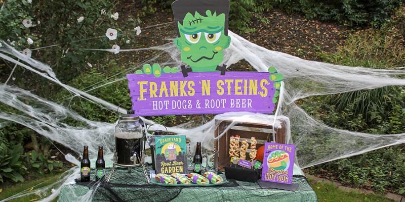 Frankenstein Halloween Party: Welcome to Franks 'n Steins