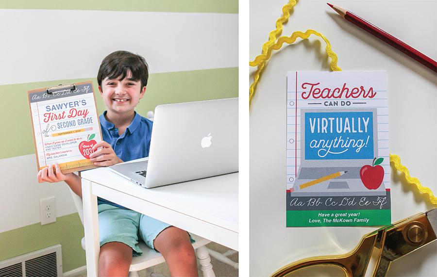 home classroom, home classroom ideas, home classroom decor, printable signs, Just Add Confetti, home classroom setup, virtual learning, homeschool, preschool, creative classroom