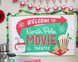 Christmas Movie Night Party