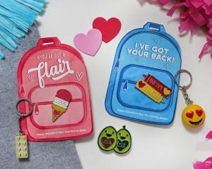 """""""You've Got Flair"""" Backpack Kids Valentine"""