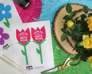 Grow and Bloom Flower Teacher Gift