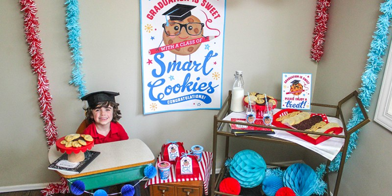 Smart Cookie Preschool Graduation Party