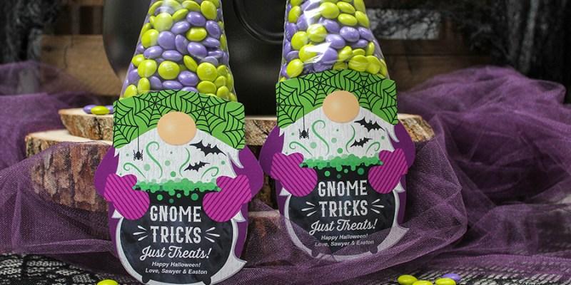 DIY Halloween Gnome Treat Bags
