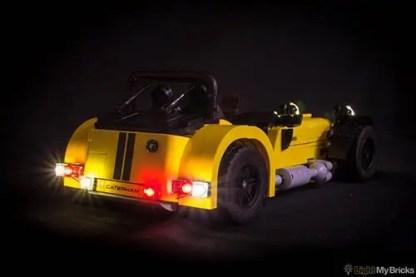 LEGO® Caterham Seven LED Light Kit 2