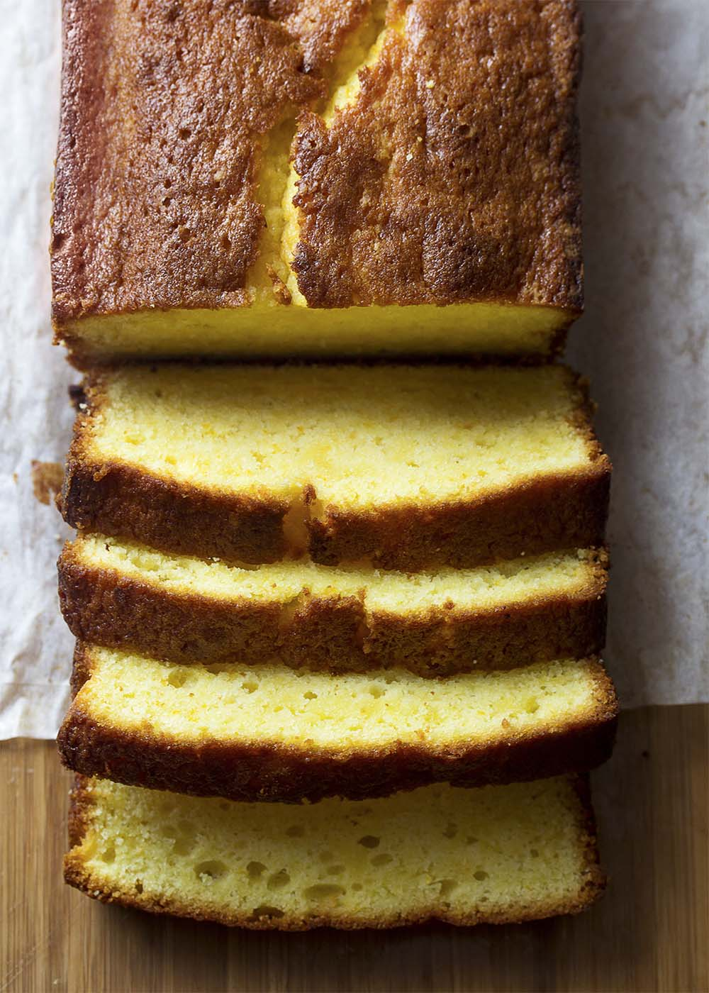 Moist And Tender Orange Pound Cake Just A Little Bit Of