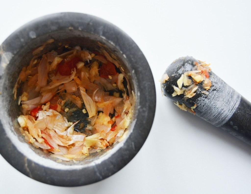 Chili og hvitløk