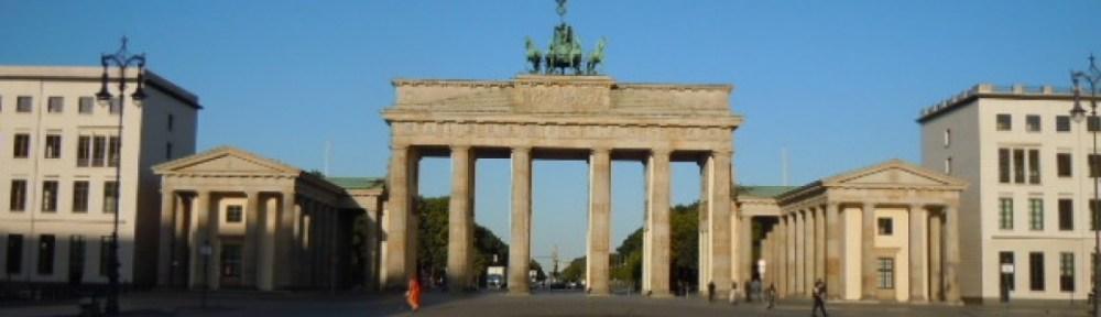 The Brandenberg Gate from Pariser Platz
