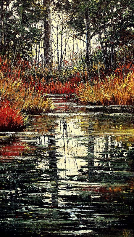 Paisajes de Jose Lopez pintura realistas paisajes colombianos pintores colombianos arte de Colombia