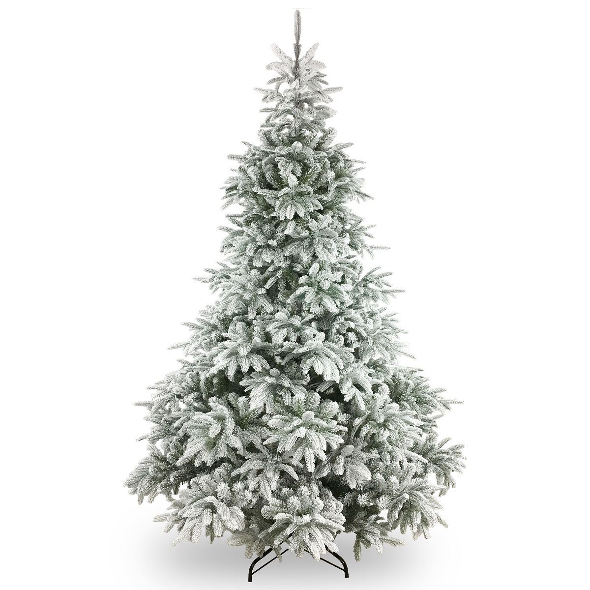 Artificial Frosted Andorra Fir Luxury Christmas Tree Just Artificial