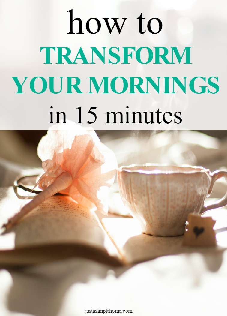 transform your mornings