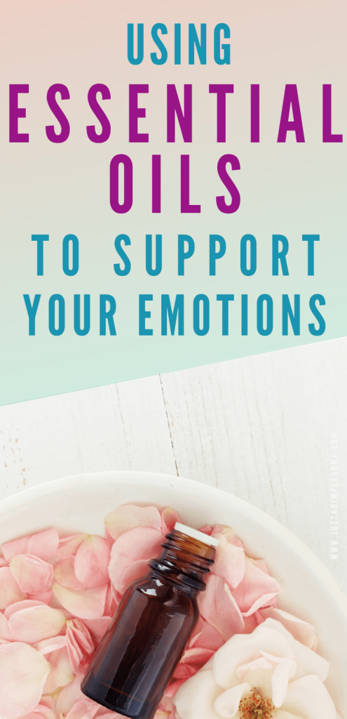 Use essential oils for emotional support