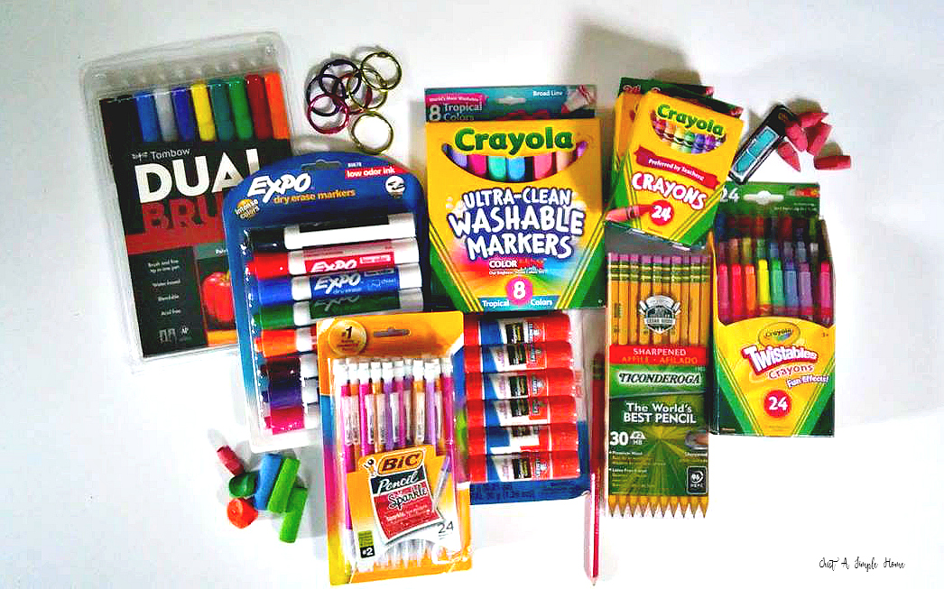 Homeschool Supply List - Just A Simple Home