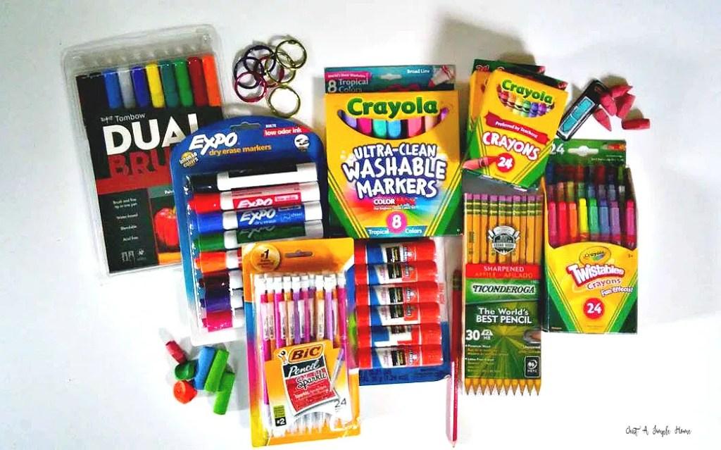 homeschool supply list 2017, homeschool supplies, back to homeschool