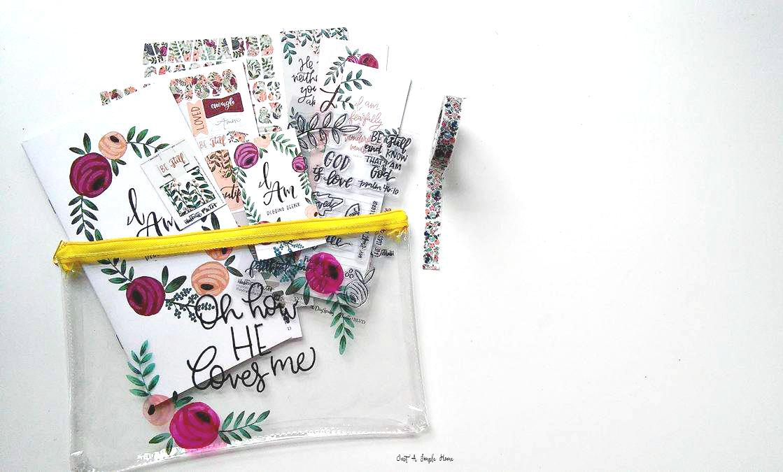 Illustrated Faith July Kit I AM Devotional Bible Journaling
