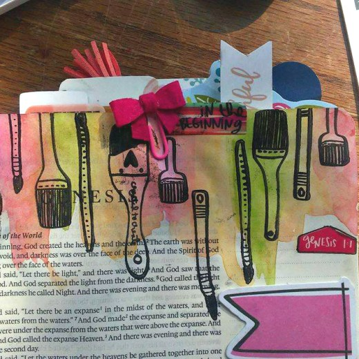CREATED TO CREATE 2 ILLUSTRATED FAITH BIBLE JOURNALING