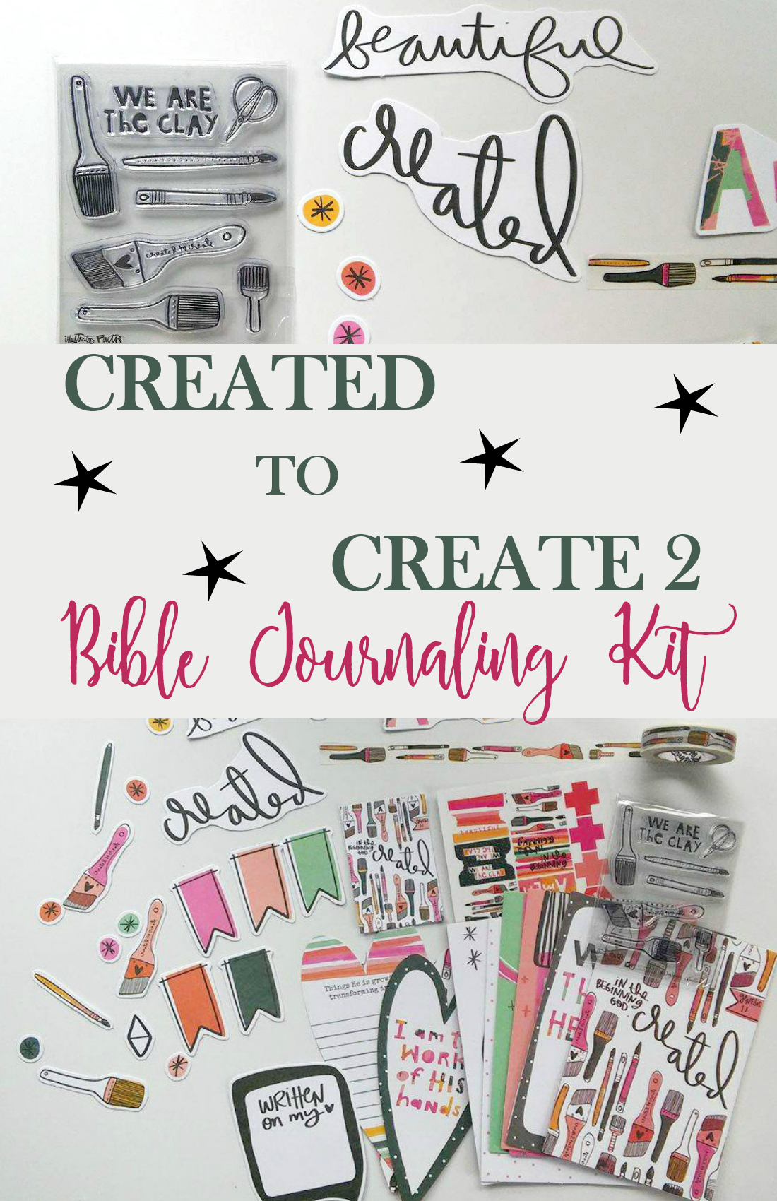 Created to Create Illustrated Faith Bible Devotional Kit