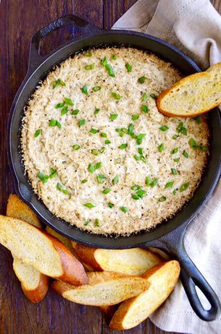 Cheesy Roasted Cauliflower Dip  Just a Taste