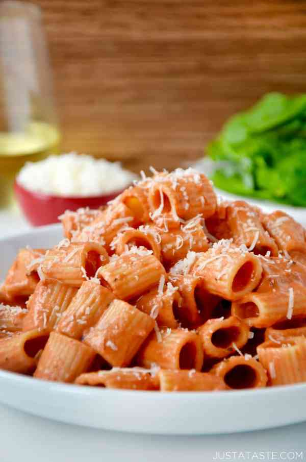 Quick and Easy Vodka Pasta Sauce Just a Taste