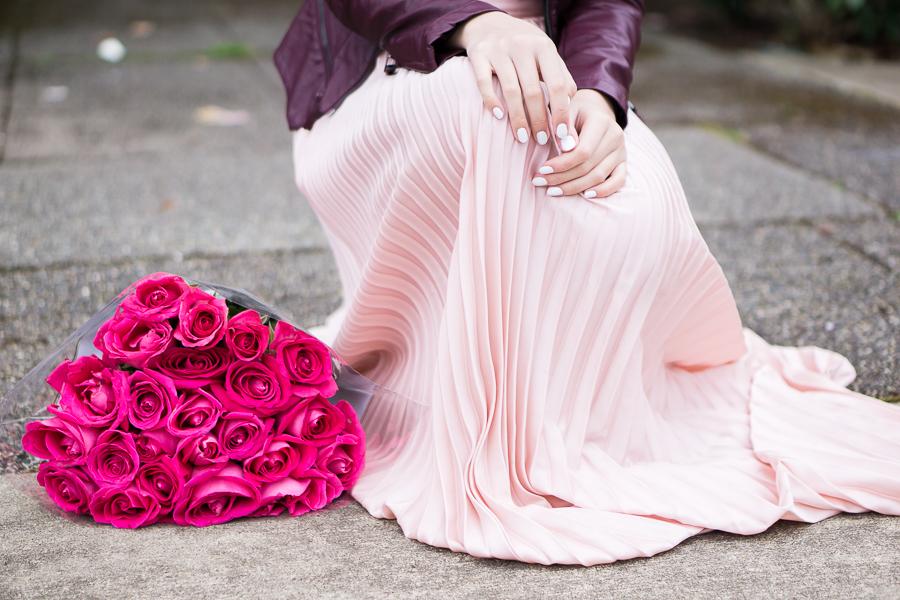 Blush Wedding Flats