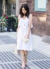 White Eyelet Summer Dresses